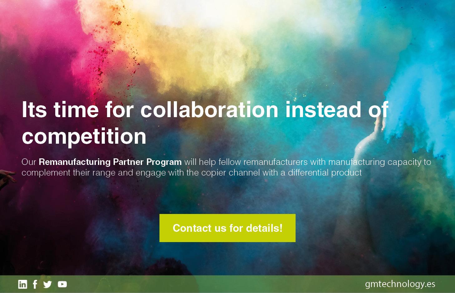 Nuevo programa de socios: Socio de Remanufactura