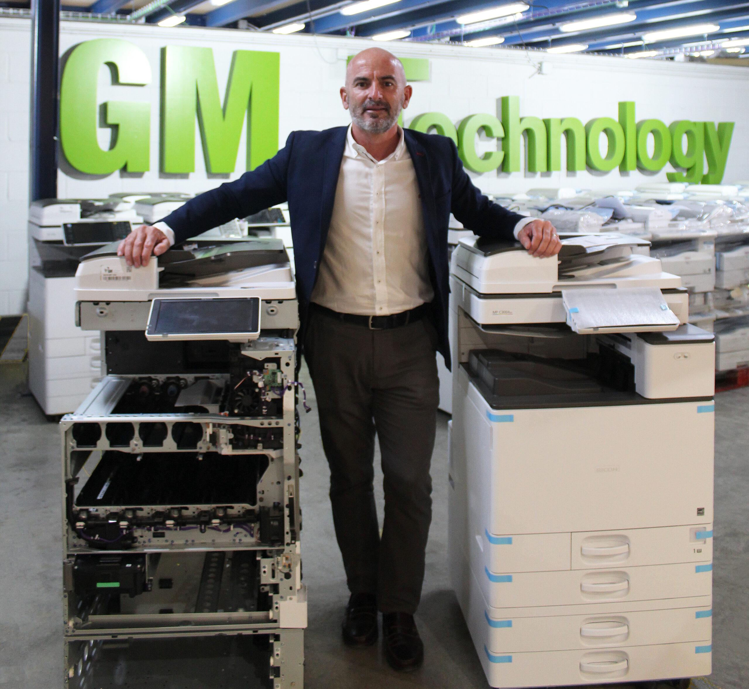 """""""GM Technology apuesta por la reutilización de los equipos de impresión y sus consumibles"""""""